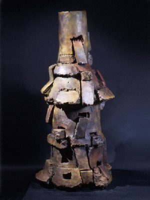 Artist: Peter Voulkos, Title: Mimbres, 2000 - click for larger image