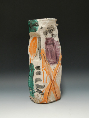 Artist: Peter Voulkos, Title: Vase, 1959 - click for larger image