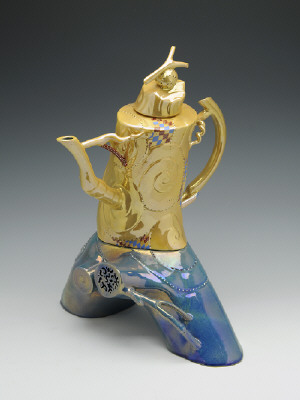Artist: Ralph Bacerra, Title: Untitled Teapot, 2005 - click for larger image