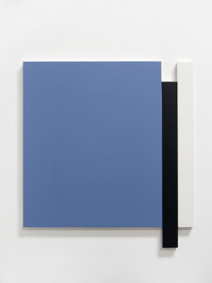 Artist: Scot Heywood, Title: Untitled Blue, Black, White, 2010 - click for larger image