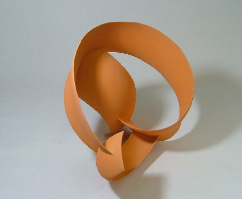 Artist: Wouter Dam, Title: Peach Colored Sculpture, 2006 - click for larger image