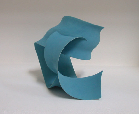Artist: Wouter Dam, Title: Turquoise Sculpture, 2007 - click for larger image